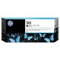 HP 745 300-ml DesignJet Matte Black Ink Cartridge (F9K05A)(Single Pack)