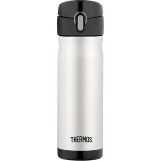 Thermos 16 Ounce Stainless Steel Commuter Bottle (Stainless Steel)