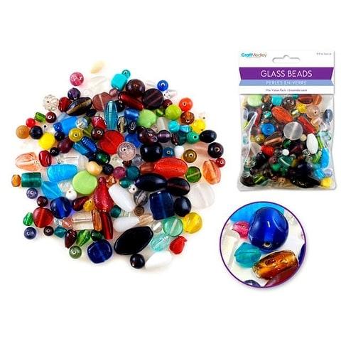 Mulitcraft Glass Bead Mixed 8.8oz