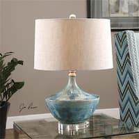 Uttermost 27059-1 Chasida Blue Ceramic Table Lamp