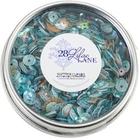 28 Lilac Lane Tin W/Sequins 40G-Seaside Holiday