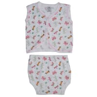 Bambini Diaper Shirt & Panty - Size - Small - Girl