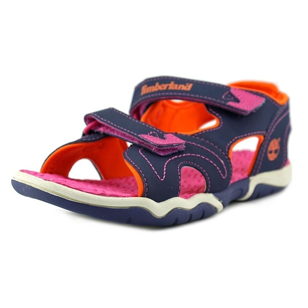 Timberland Adventure Seeker 2-Strap Youth Synthetic Blue Fisherman Sandal