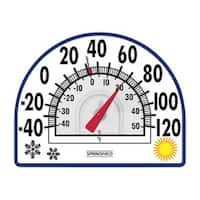 Taylor 5323 Seasons Window Cling Thermometer, 7""