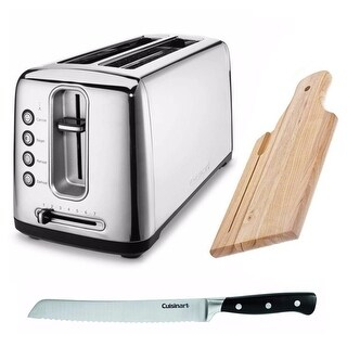 Cuisinart CPT-2400 The Bakery Artisan Bread Toaster + Free Bread Knife and More