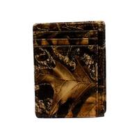 Nocona Western Business Card Holder Mens Leather Mossy Oak - One size