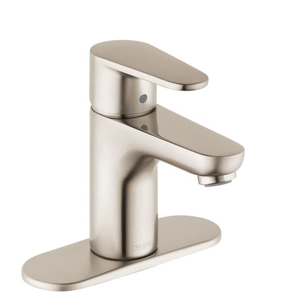 Hansgrohe 31612 Talis E 1.2 GPM Single Hole Bathroom Faucet with EcoRight, Quick Clean, and ComfortZ