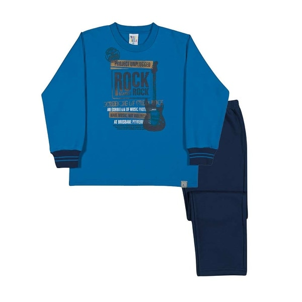 Boys Outfit Sweatshirt and Sweatpants Kids Set Pulla Bulla Sizes 2-10 Years