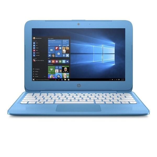 """Refurbished - HP Stream 11-Y010NR 11.6"""" Laptop Intel Celeron N3060 1.6GHz 4GB 32GB Windows 10"""