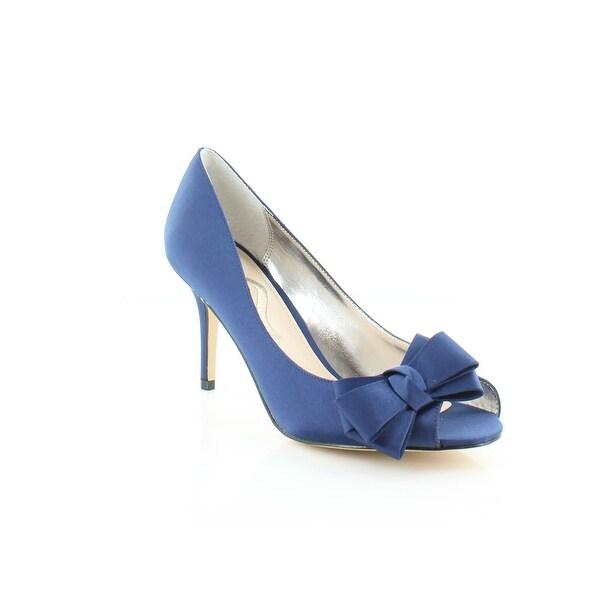 Nina Florice Women's Heels Navy Blue Luste