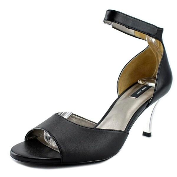 Array Chloe Women Open-Toe Leather Heels