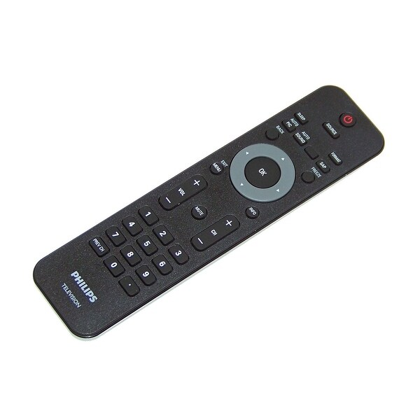 OEM Philips Remote Originally Shipped With: 22PFL4505D, 22PFL4505D/F7, 40PFL3705D, 40PFL3705D/F7, 19PFL3504D