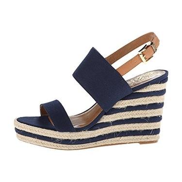 Vince Camuto Women's Loran Ankle Strap Platform Wedge Sandals
