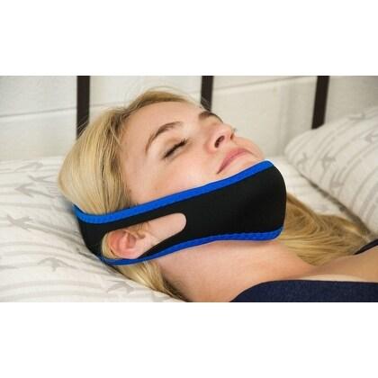 Anti-Snoring Jaw Strap - Black