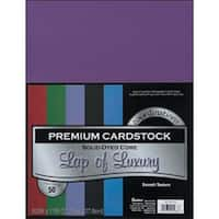 "Lap Of Luxury - Smooth - Core'dinations Value Pack Cardstock 8.5""X11"" 50/Pkg"