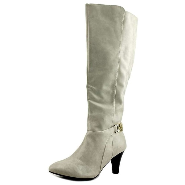 Karen Scott Womens HAIDAR Almond Toe Knee High Fashion Boots