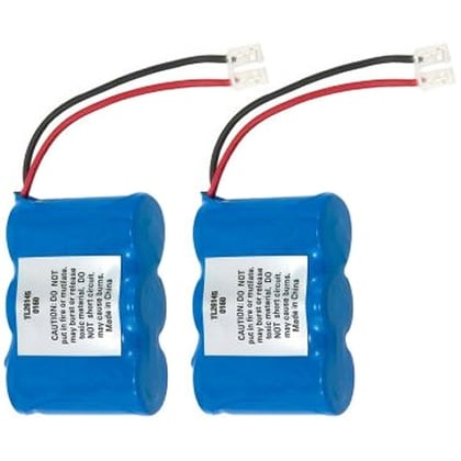 Replacement Panasonic KX-A36 NiCD Cordless Phone Battery (2 Pack)