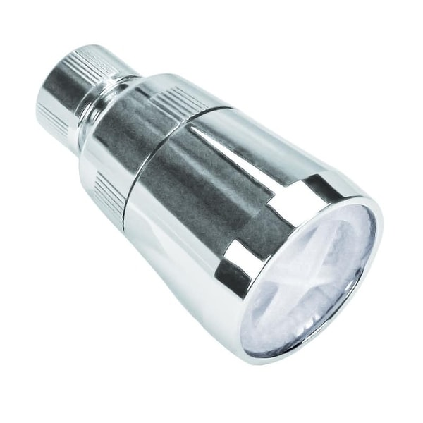 Proflo PF110100 Single Function Shower Head with Volume Adjust (2.0 GPM)