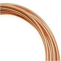 Artistic Wire, Copper Craft Wire 12 Gauge Thick, 10 Foot Spool, Bare Copper