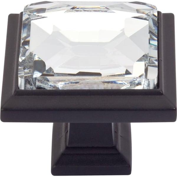 Atlas Homewares 340 Legacy Crystal 1-5/16 Inch Square Cabinet Knob