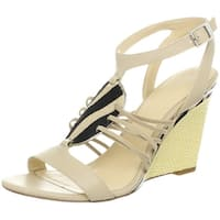 Calvin Klein Womens Marion Open Toe Casual Ankle Strap Sandals