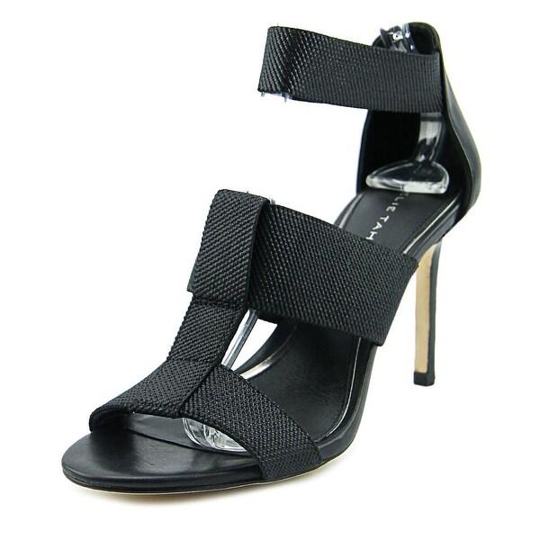 Elie Tahari Seneca Women Black/Black Sandals
