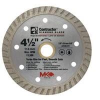"""MK Diamond 167021 Mk-99 Arbor Turbo Rim Diamond Blade, 4.5"""""""