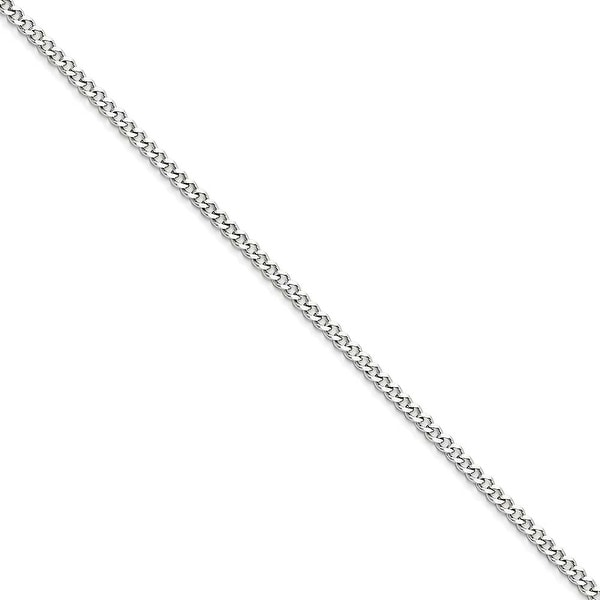 Chisel Stainless Steel 3.0mm 16in Curb Chain (3 mm) - 16 in