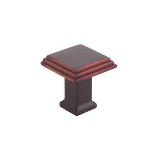 9260 1-1/8 Inch Square Cabinet Knob