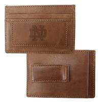 University of Notre Dame Credit Card Holder & Money Clip