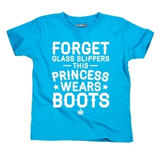 Princess Wears Boots Case Ih© - Toddler Short Sleeve Tee