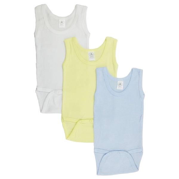 Boys Tank Top Onezies (Pack of 3) - Size - Newborn - Boy