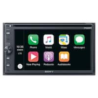 "Sony XAV-AX200SXM 6.4"" CD/DVD Receiver with Apple CarPlay, Android Auto, and SiriusXM Kit"