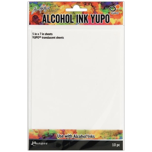 "Tim Holtz Alcohol Ink Transulcent Yupo Paper 10 Sheets-5""X7"""