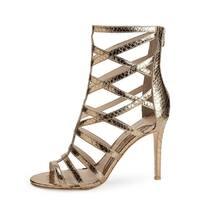 Carolinna Espinosa Womens SARI 2 Open Toe Special Occasion Strappy Sandals - 7