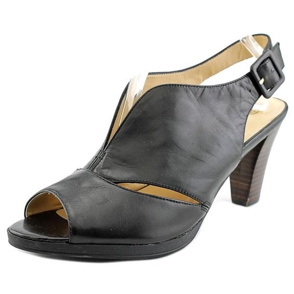 Bella Vita Leona Women Black Sandals