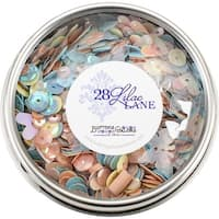 28 Lilac Lane Tin W/Sequins 40G-Spring Butterflies