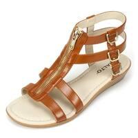 Rialto Womens Gracia Open Toe Casual Strappy Sandals