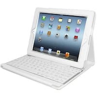 Adesso WKB-1000DW Adesso Compagno 3 Keyboard/Cover Case for iPad - Faux Leather