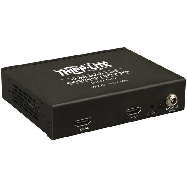 Tripp Lite B126-004 Hdmi(R) Over Cat-5/6 Extender/Splitter, 4-Port Box-Style Transmitter For Video & Audio