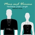 Loralyn Designs Mens Womens Black Steel Triangle Necklace as Seen on TV - Thumbnail 4