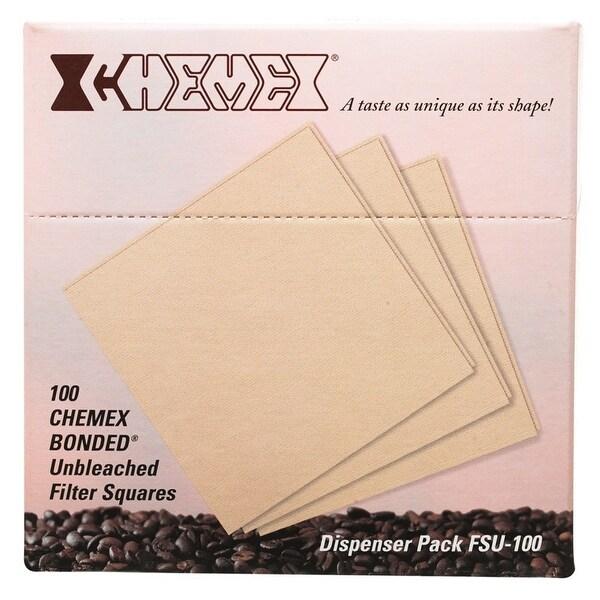 Chemex FSU-100 Squares Coffee Filter