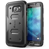 i-Blason Samsung Galaxy S6 Case - Armorbox Series Case - Black