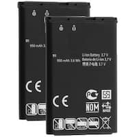 Replacement Battery for LG LGIP-531A Battery Model (2 Pack)