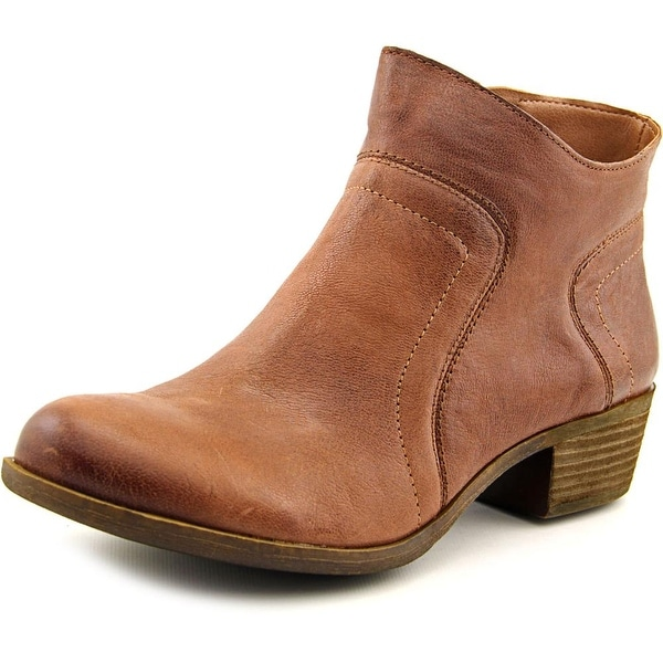 Lucky Brand Brolley Women Round Toe Leather Ankle Boot