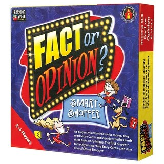 Fact Or Opinion Shopping Mall Red