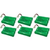 Replacement VTech mi6870 / i6778 NiMH Cordless Phone Battery - 600mAh / 3.6V (6 Pack)