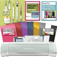 Cricut Explore Air 2 Machine Bundle - Tool Kit, Vinyl Pack, Designs Inspiration