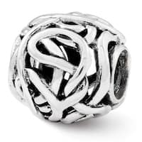 Sterling Silver Reflections Bali Bead (4mm Diameter Hole)