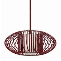 Fredrick Ramond FR32557 1 Light Full Sized Pendant from the Vibe Collection